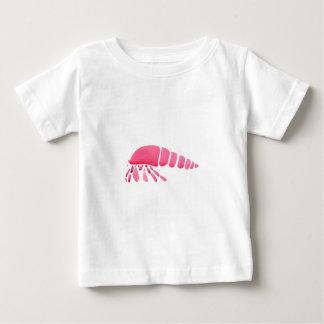 Rosa Einsiedlerkrebs Baby T-shirt