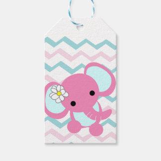 rosa Elefant Geschenk-Umbauten Geschenkanhänger