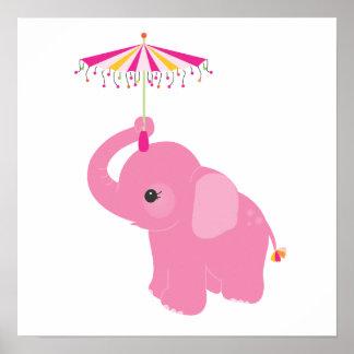 Stylische elefant kinderzimmer wand kunst poster for Stylische kinderzimmer