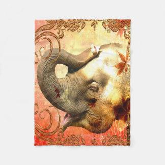 Rosa Elefant-kleine Fleece-Decke Fleecedecke