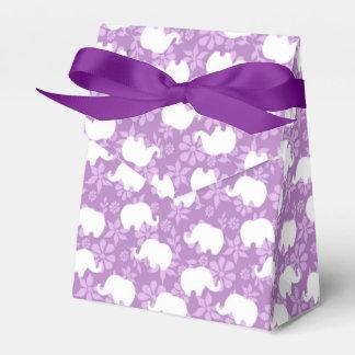 Rosa Elefanten Geschenkkarton