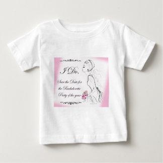Rosa eleganter Junggeselinnen-Abschieds-Entwurf Tshirts