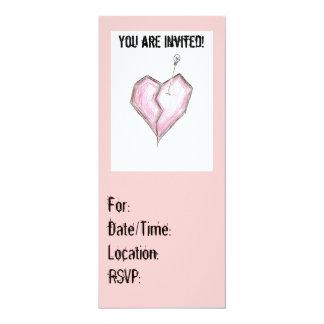 Rosa Emo Einladungen Birthay irgendeine