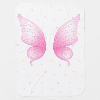 Rosa Engel Wings Baby-Decke Babydecke