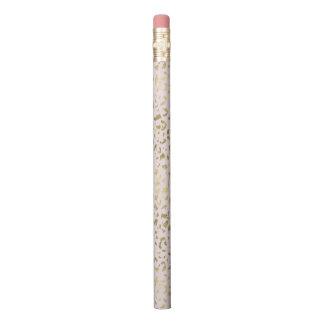 Rosa erröten Goldtierdruck Bleistift