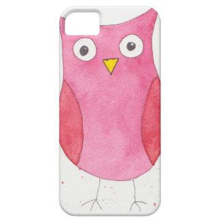 Rosa Eule iPhone 5 Schutzhüllen