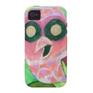 Rosa Eule iPhone 4 Cover