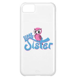 Rosa Eulen-kleine Schwester iPhone 5C Hülle