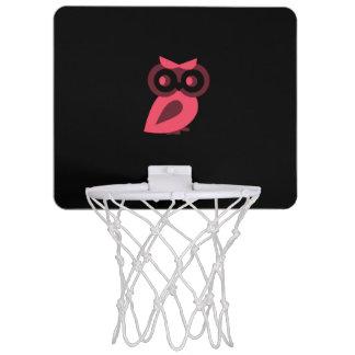 Rosa Eulen-Minibasketball-Ziel Mini Basketball Ring