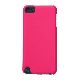 Rosa Fältchen-Heißer schockierender Rosa-Im Norden iPod Touch 5G Hülle