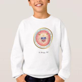 Rosa Familien-Siegel im Dienst Sweatshirt