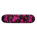 Rosa Farben-Spritzer Individuelle Skateboarddecks