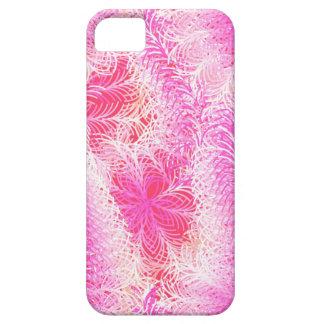 Rosa Federboa iPhone 5 Schutzhülle