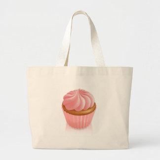 Rosa feenhafter Kuchenkleiner kuchen Tragetasche