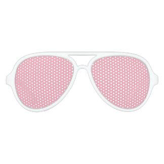 Rosa Fizz-Süßigkeit Bubblegum im Norden Partybrille