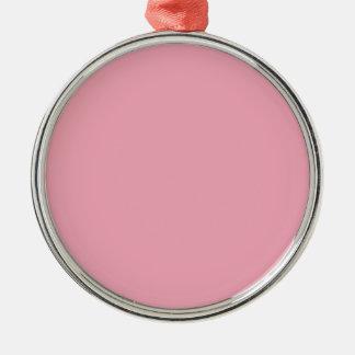 Rosa Fizz-Süßigkeit Bubblegum im Norden Silbernes Ornament