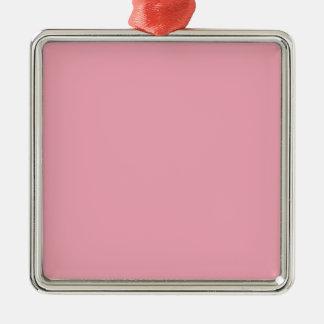 Rosa Fizz-Süßigkeit Bubblegum-Im Norden Silbernes Ornament