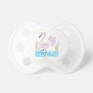 Rosa Flamingo #13 durch EelKat Wendy C Allen Schnuller