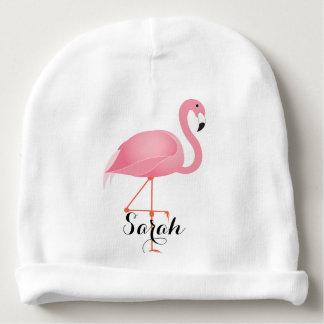 Rosa Flamingo Babymütze