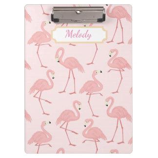 Rosa Flamingo-Glück