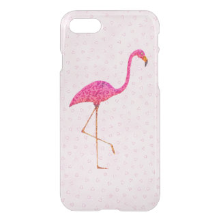 Rosa Flamingo iPhone 7 Clearly™ Ablenker-Kasten iPhone 7 Hülle