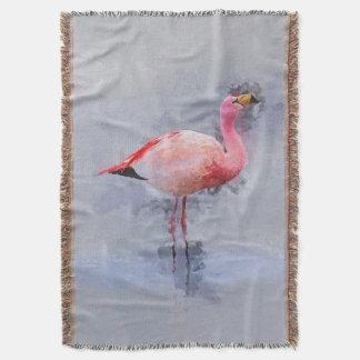 Rosa Flamingo-Malerei Decke