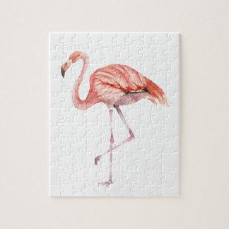 Rosa Flamingo Puzzle
