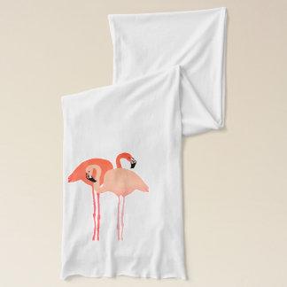 Rosa Flamingo-Strand-Hochzeit Schal