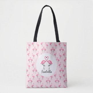 Rosa Flamingo-Taschen-Tasche Tasche