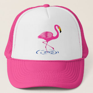 Rosa Flamingo Truckerkappe