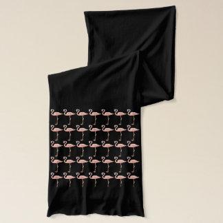 Rosa Flamingo-Vogel-Muster wunderlich und Spaß Schal