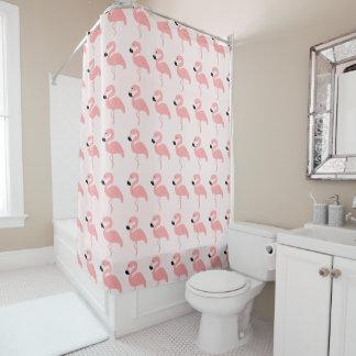 Rosa Flamingos Duschvorhang