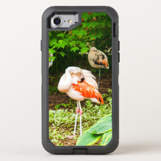 Rosa Flamingos OtterBox Defender iPhone 8/7 Hülle