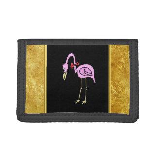 Rosa Flamingos stehend mit einer roten