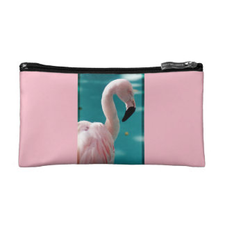 Rosa Flamingotasche Makeup-Tasche