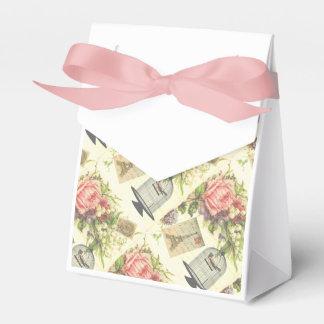 Rosa französisches Thema-Vintage Geschenkschachtel