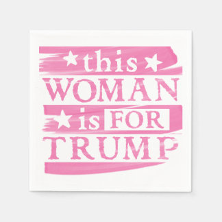 Rosa Frau für TRUMPF themenorientierte Papierserviette