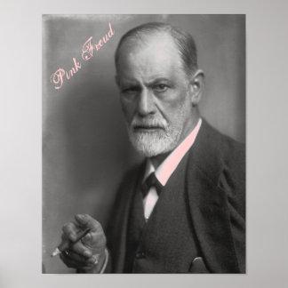 Rosa Freud-Plakat Poster