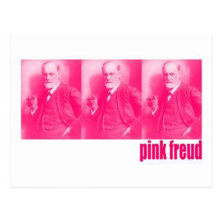 Rosa Freud Postkarte
