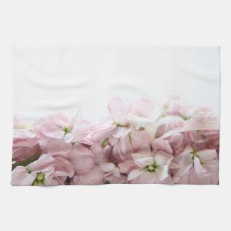 Rosa Frühlings-Blumen Handtuch