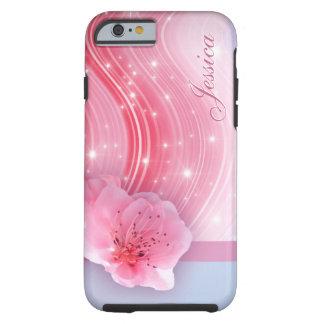 Rosa Frühlings-Blüte Tough iPhone 6 Hülle