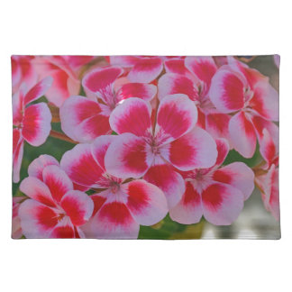 Rosa Frühlingsblüten Tischset