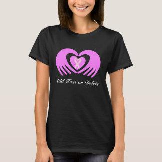 Rosa für Krebs-Bewusstseins-Shirt… SRF T-Shirt