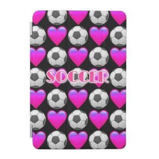 Rosa Fußball Emoji iPad mini intelligente iPad Mini Hülle