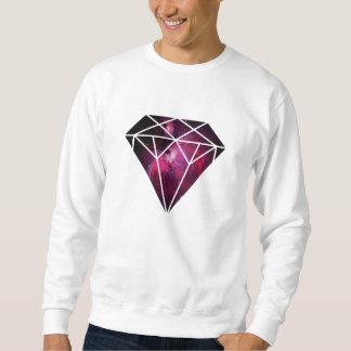 Rosa Galaxie-Diamant Sweatshirt