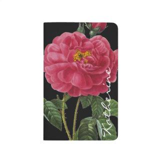 Rosa Gallica Taschennotizbuch