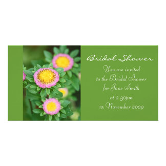 Rosa Gänseblümchen - Brautparty-Einladung Karte