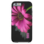 Rosa Gänseblümchen personalisierter iPhone 6 Fall Tough iPhone 6 Hülle