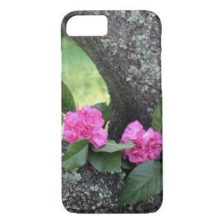 Rosa Gartennelken-Telefon-Kasten iPhone 8/7 Hülle