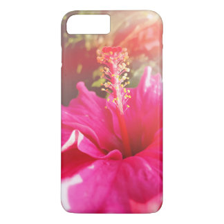 Rosa Gehäuse des Hibiskus iPhone8 iPhone 8 Plus/7 Plus Hülle